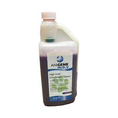 Anigene HLD4V Animal Disinfectant - Lavender CONCENTRATE