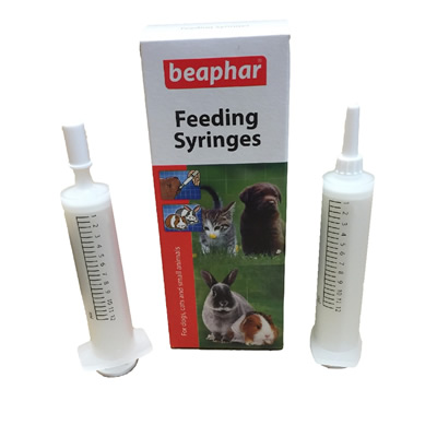 2 off 12ml Feeding Syringes