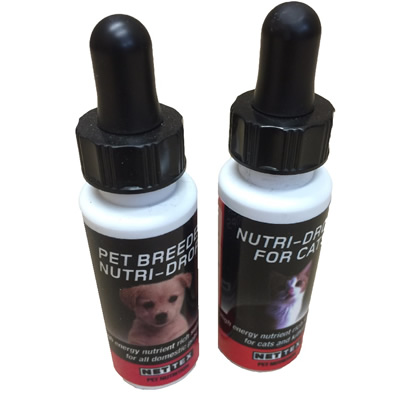 Nutridrops for Puppy or Kitten