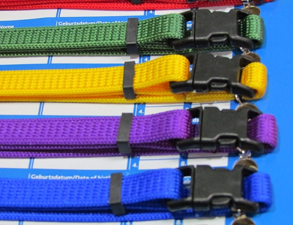 10 Tyvek or 12 Trixie Fabric Puppy ID Bands
